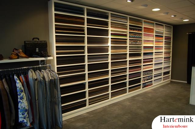 Concept interieur - kledingwinkel | Hartemink Interieurbouw